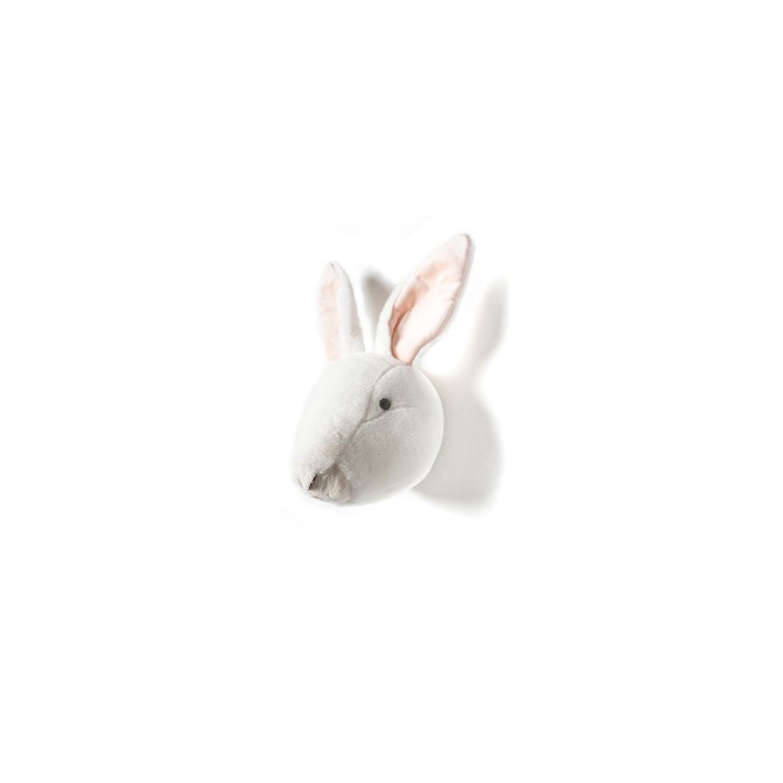 D coration murale enfant lapin blanc for Decoration murale blanc