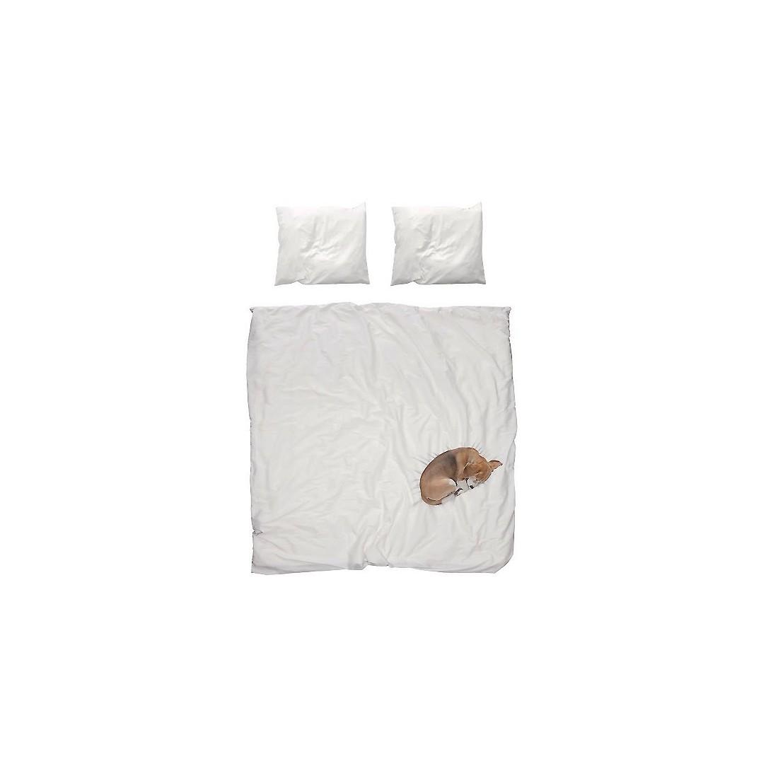 housse de couette enfant effet 3d chien bob snurk ma chambramoi. Black Bedroom Furniture Sets. Home Design Ideas