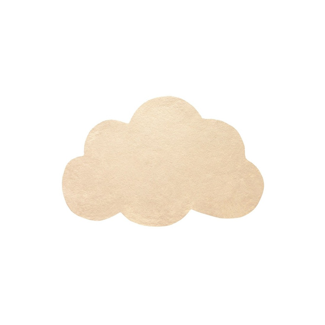 tapis enfant coton nuage jaune bl lilipinso ma chambramoi. Black Bedroom Furniture Sets. Home Design Ideas