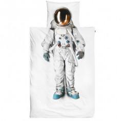 Housse de couette enfant trompe l'oeil Cosmonaute - Snurk