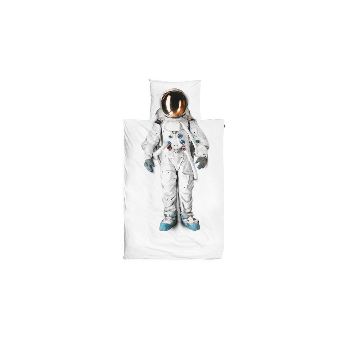 Housse de couette enfant 3d cosmonaute snurk avec taie - Housse de couette enfants ...