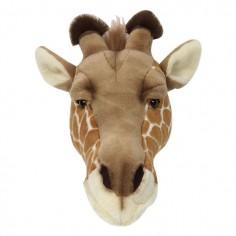 Déco murale enfant peluche tête de Girafe
