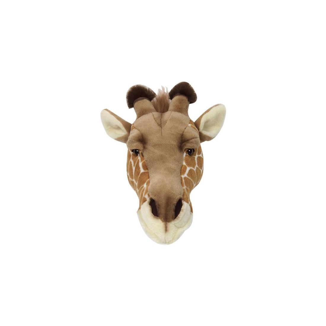 d co murale enfant peluche t te de girafe bibib ma. Black Bedroom Furniture Sets. Home Design Ideas