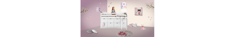 Pin enfant garcon ou fil lit mezzanine chene lit mezzanine - Comment faire une chambre d ado ...