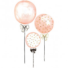 Sticker enfant XL Ballons roses  Lilipinso