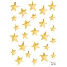 Sticker enfant Etoiles dorées Lilipinso