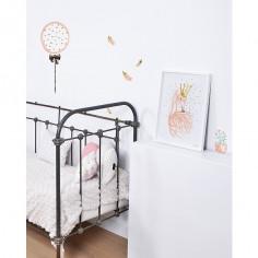 Affiche encadrée Flamants roses - Lilipinso