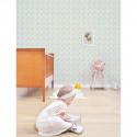 Tableau chambre pour enfant Affiche encadrée Faon et fleurs