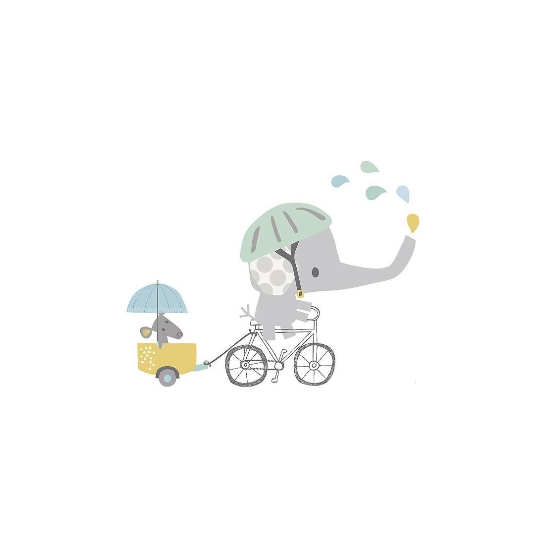 Sticker Enfant Xl En Vélo Lilipinso - Ma Chambramoi