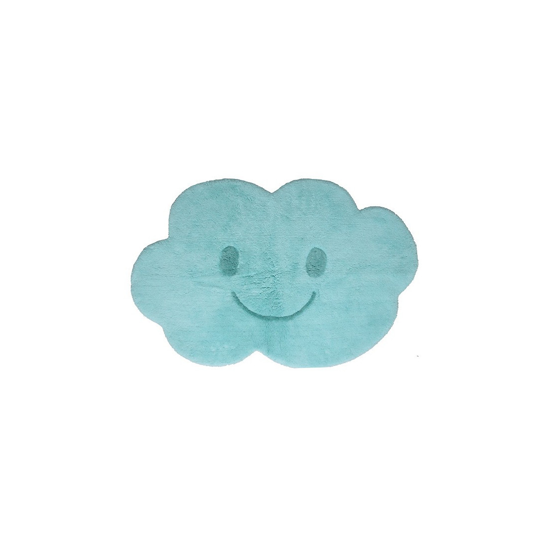 tapis enfant lavable nuage bleu nimbus nattiot ma chambramoi. Black Bedroom Furniture Sets. Home Design Ideas