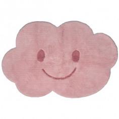 Tapis enfant lavable Nuage rose Nimbus Nattiot