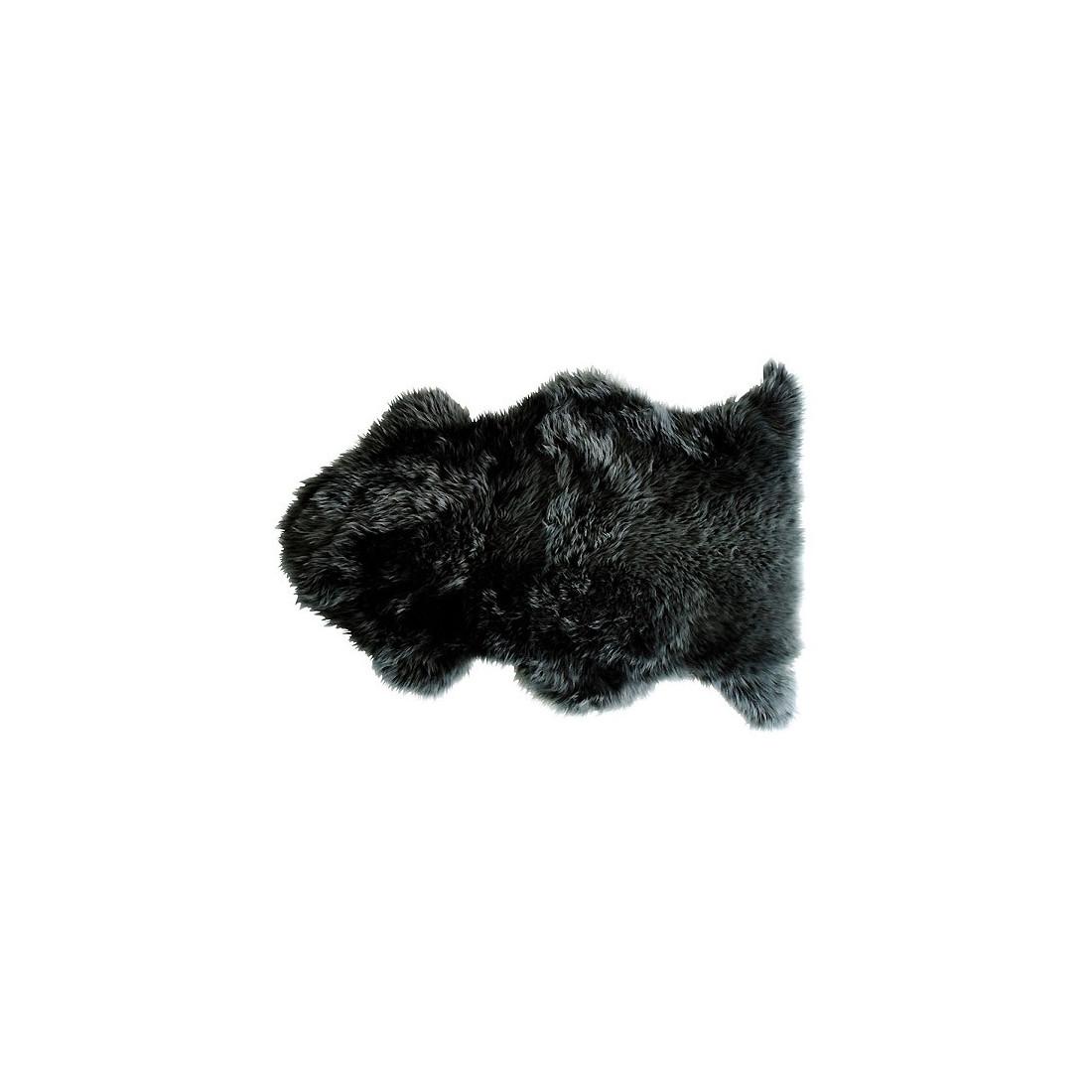 tapis enfant peau de mouton douchka gris fonc nattiot. Black Bedroom Furniture Sets. Home Design Ideas