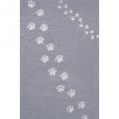 Tapis enfant Empreinte gris Art for Kids