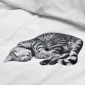 Housse de couette Effet trompe oeil Chat - Snurk