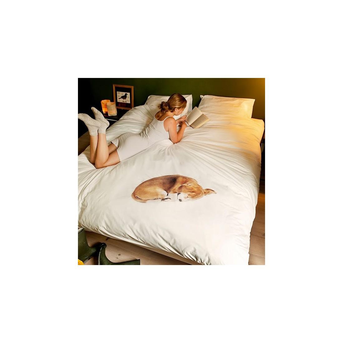 housse de couette enfant chien bob snurk ma chambramoi. Black Bedroom Furniture Sets. Home Design Ideas