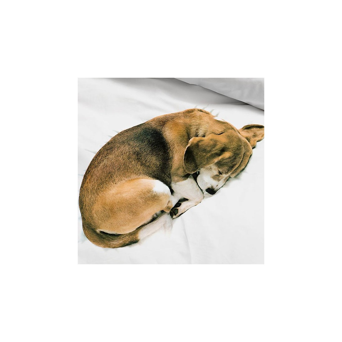 Housse de couette enfant effet 3d chien bob snurk ma - Housse de couette adulte ...