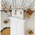 Housse de couette enfant Effet 3D Ecureuil et lapin - Snurk