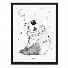 Tableau enfant Affiche encadrée Panda Lilipinso