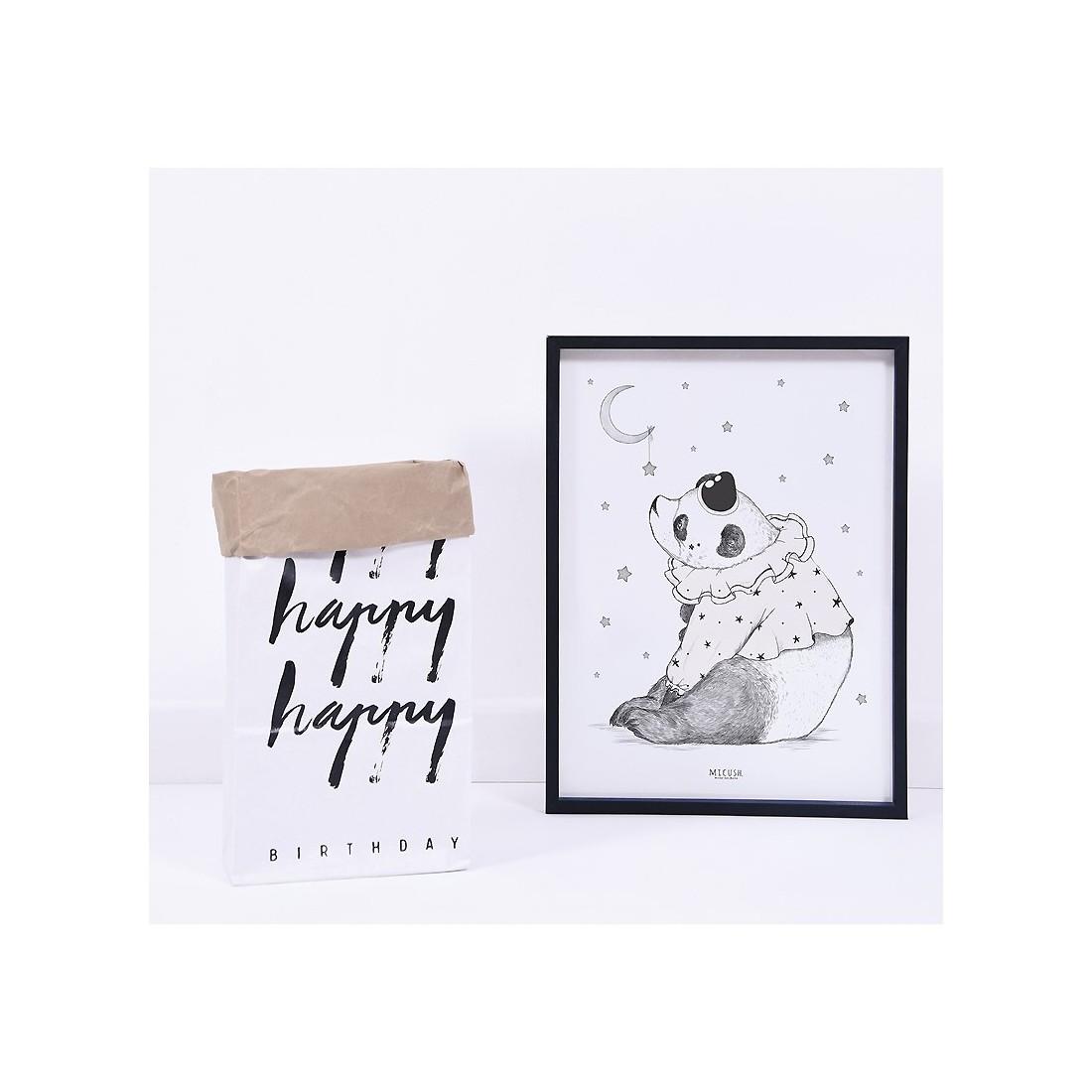 Tableau Enfant Affiche Encadr E Panda Lilipinso Ma Chambramoi