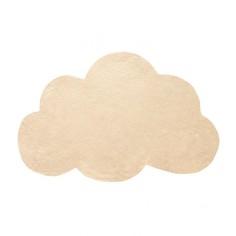Tapis enfant coton Nuage jaune blé - Lilipinso