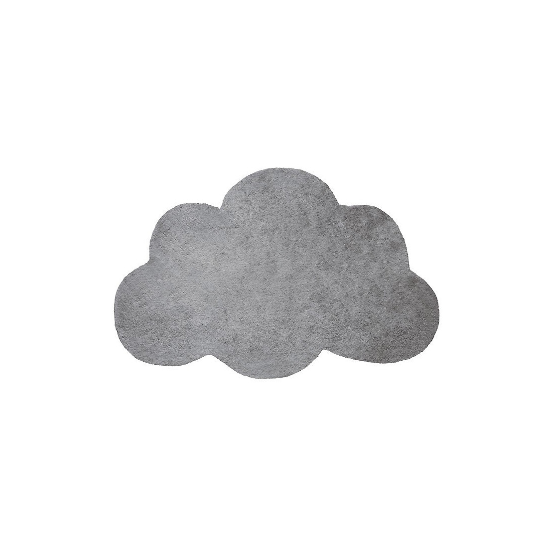 tapis enfant coton nuage gris m tal lilipinso ma chambramoi. Black Bedroom Furniture Sets. Home Design Ideas