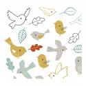 Sticker enfant Les oiseaux  - Lilipinso