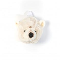 Sac à dos enfant Ours blanc Peluche Bibib