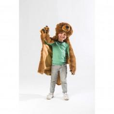 Déguisement enfant Ours brun Bibib