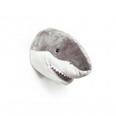 Déco murale enfant Peluche Requin Jack Bibib