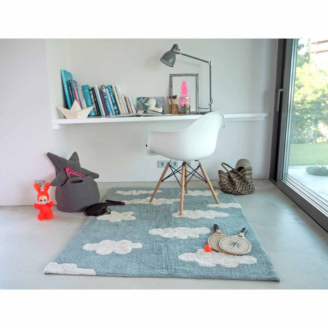 tapis nuage bleu crer with tapis nuage bleu excellent. Black Bedroom Furniture Sets. Home Design Ideas