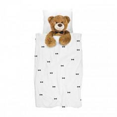 Housse de couette enfant  Ours Teddy Bear 140x200cm Snurk