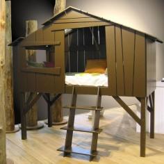Lit cabane enfant artichaut Mathy by Bols