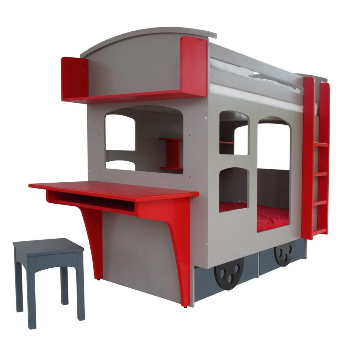 lit superpos cabane train wagon couleurs au choix ma. Black Bedroom Furniture Sets. Home Design Ideas