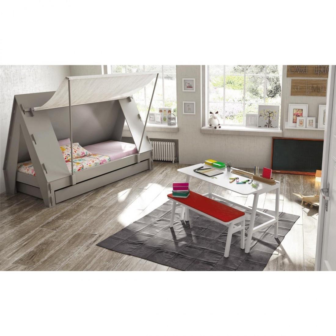 lit enfant tente et sommier et tiroir lit mathy by bols. Black Bedroom Furniture Sets. Home Design Ideas