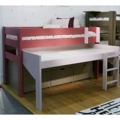 lit combiné avec bureau et rangement