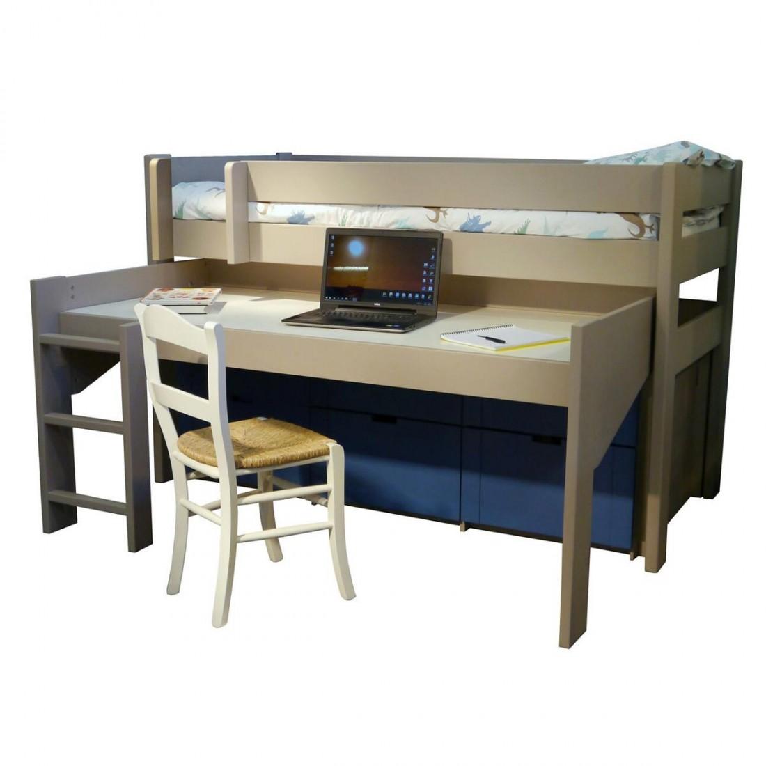 lit enfant sur lev dominique 127 mathy by bols ma. Black Bedroom Furniture Sets. Home Design Ideas