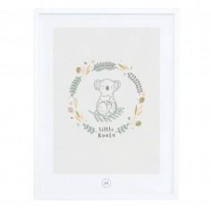 Tableau pour enfant Affiche encadrée Koala Lilipinso