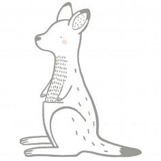 Sticker enfant XL Kangourou Lilipinso