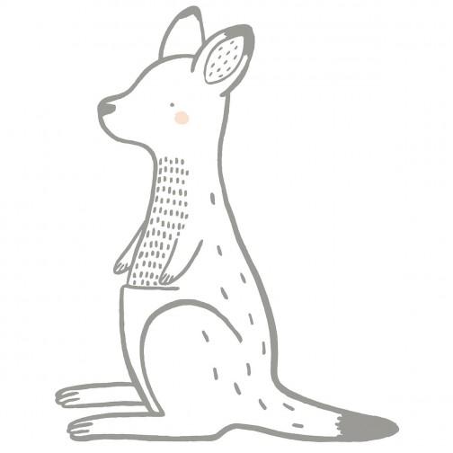 Sticker Enfant Xl Kangourou Lilipinso - Ma Chambramoi