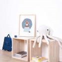 Tableau chambre enfant Affiche encadrée Phare Lilipinso