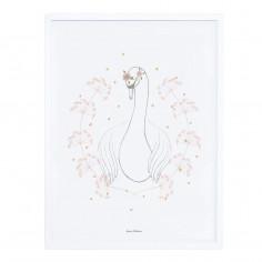 Tableau enfant Affiche encadrée Le Cygne Botany Lilipinso