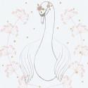 Tableau pour enfant Affiche encadrée Le Cygne Botany Lilipinso