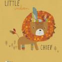 Tableau pour enfant Affiche encadrée Le Chef Lion Lilipinso