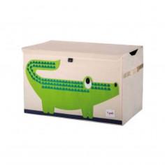 Coffre à jouets 3 Sprouts Crocodile