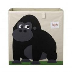 Boîte de rangement jouets 3 Sprouts Gorille