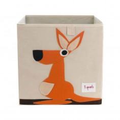 Boîte de rangement jouets 3 Sprouts Kangourou