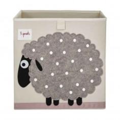 Boîte de rangement jouets 3 Sprouts Mouton