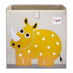Boîte de rangement jouets 3 Sprouts Rhinocéros