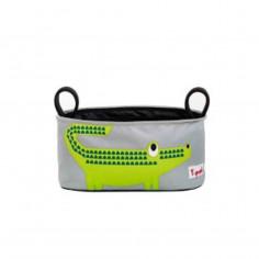 Rangement pour poussette 3 Sprouts Crocodile