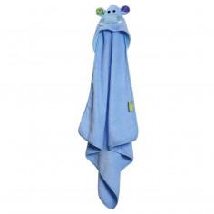 Serviette de bain bébé Henry l'hippo Zoocchini
